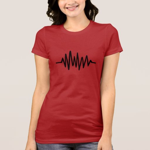 Frequency music pulse tees