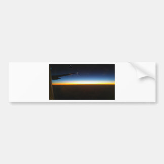 Frequent Flyer Horizontal Bumper Sticker