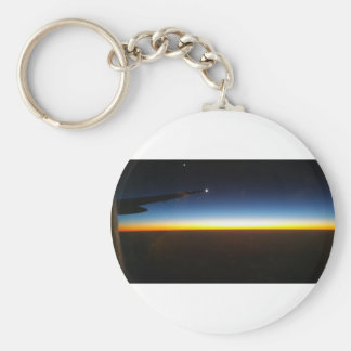 Frequent Flyer Horizontal Key Ring