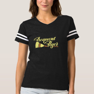 frequent flyer witchy halloween T-Shirt