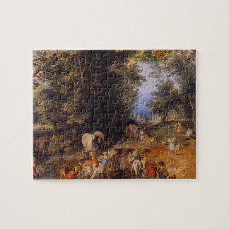 Frequented Forest Road_Dutch Masters Jigsaw Puzzle