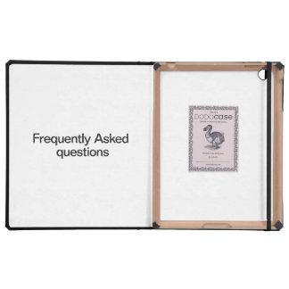 Frequently Asked Questions iPad Covers