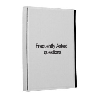 Frequently Asked Questions iPad Folio Cases
