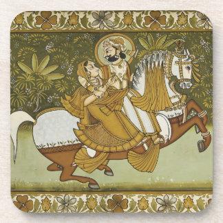 Fresco Mehrangarh Fort Jodhpur Rajasthan India Drink Coasters