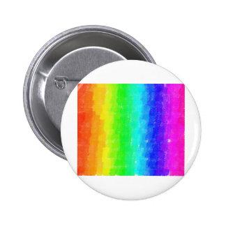 Fresco Rainbow Pinback Button