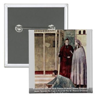 Frescoes On The Life Of St Francis Of Assisi Pin