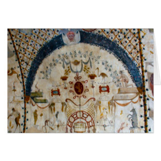 """Frescos of Assisi Italy IV"" Card"