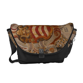 Frescos of Assisi Italy Messenger Bag