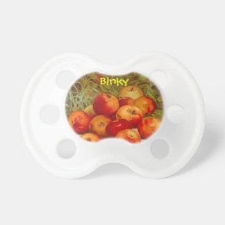 Fresh Apple Baby Binky Dummy