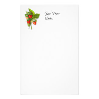 Fresh as a Berry, Strawberries Stationery