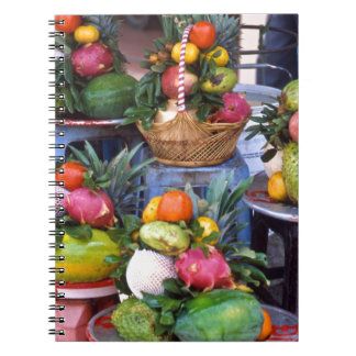 Fresh Asian Fruits Notebook