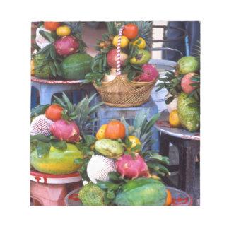 Fresh Asian Fruits Notepad