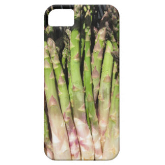 Fresh asparagus hand picked from the garden iPhone 5 cases