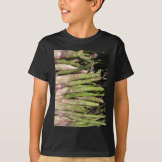 Fresh asparagus hand picked from the garden T-Shirt