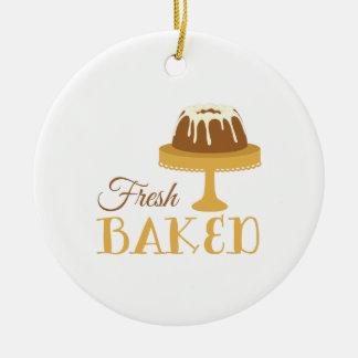 Fresh Baked Ceramic Ornament