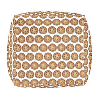 Fresh Baked Chocolate Chip Cookie Print Foodie Pouf