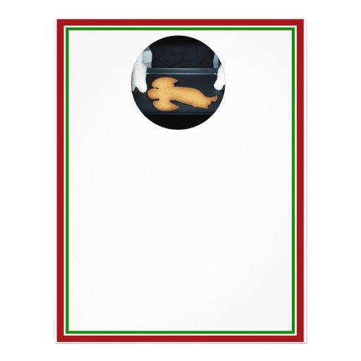 Fresh Baked Christmas Angel Cookie Custom Flyer