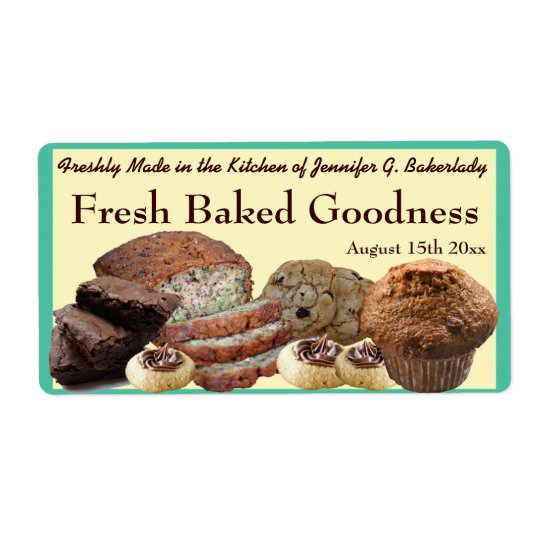 Fresh Baked Goods Variety Packaging