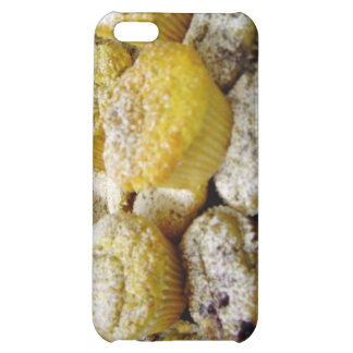 Fresh baked muffins on a plate cover for iPhone 5C