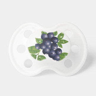 Fresh Blueberries Baby Pacifier