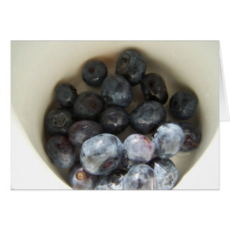 Fresh Blueberries Card