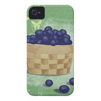 Fresh Blueberries iPhone 4 Case-Mate Cases