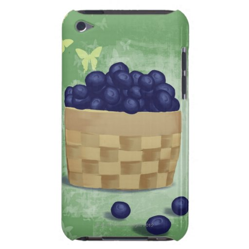 Fresh Blueberries iPod Touch Covers