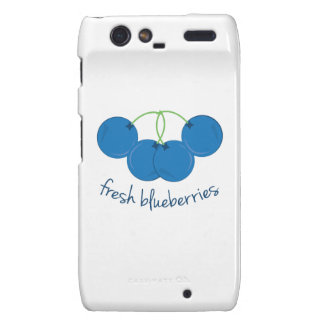 Fresh Blueberries Motorola Droid RAZR Covers