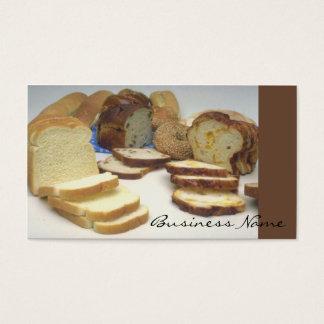 Fresh bread business card