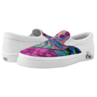 Fresh Breeze Coral Slip-On Shoes