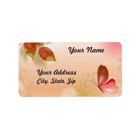 Fresh Butterfly 2 Label