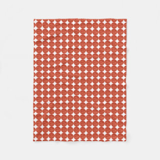 Fresh Cherry Tomato Fleece Blanket