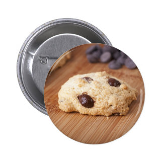 Fresh Chocolate Chip Cookie Pinback Button
