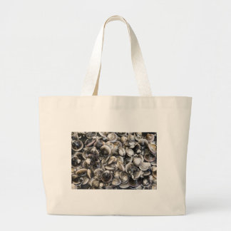 Fresh Clams Large Tote Bag