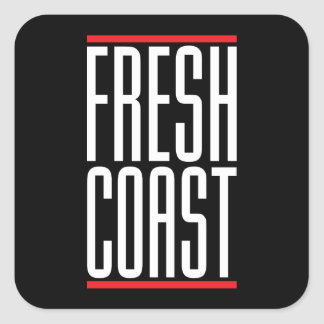 Fresh Coast Square Sticker