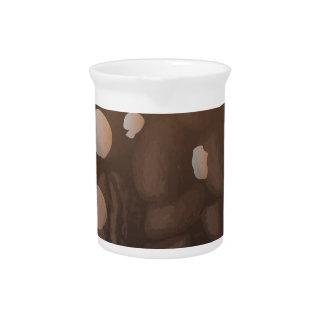 Fresh Coffee Background Pitcher