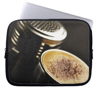 fresh coffee computer sleeve