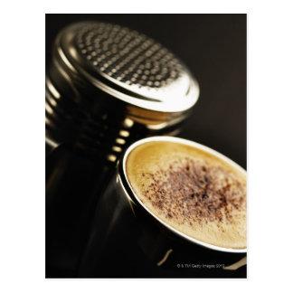 fresh coffee postcard