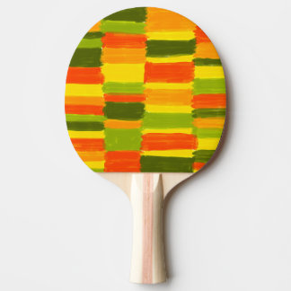 Fresh Colours NO 1 Ping Pong racquet on one side
