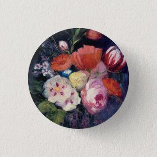 Fresh Cut Spring Flower 3 Cm Round Badge