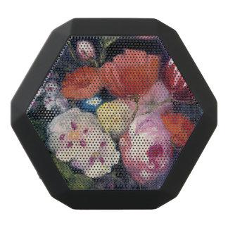Fresh Cut Spring Flower Black Bluetooth Speaker