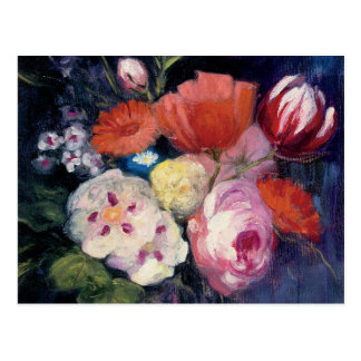 Fresh Cut Spring Flower Postcard