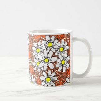 fresh daisies coffee mug