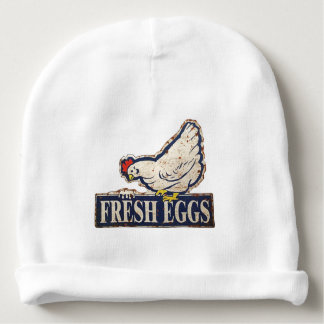 fresh eggs baby beanie