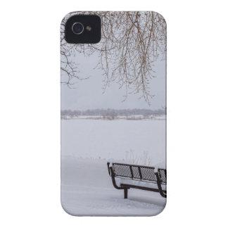 Fresh Fallen Snow iPhone 4 Case-Mate Cases