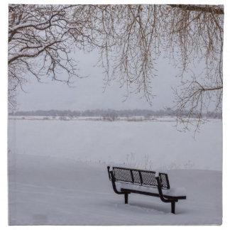 Fresh Fallen Snow Napkin
