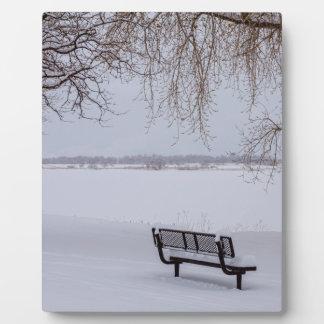 Fresh Fallen Snow Plaque
