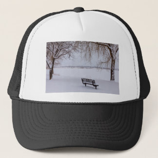 Fresh Fallen Snow Trucker Hat
