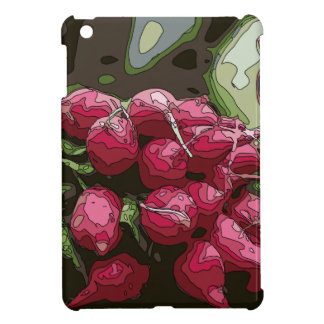 Fresh Farmers Radishes Ready for Cooking iPad Mini Cover