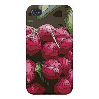 Fresh Farmers Radishes Ready for Cooking iPhone 4/4S Case